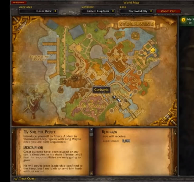 Pandaria Map