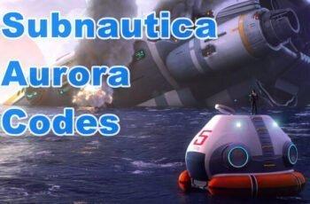 Subnautica Aurora Codes