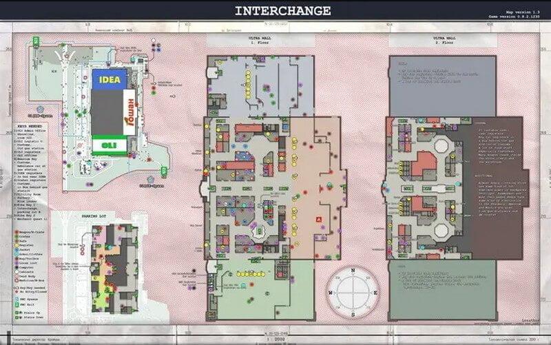 interchange map tarkov