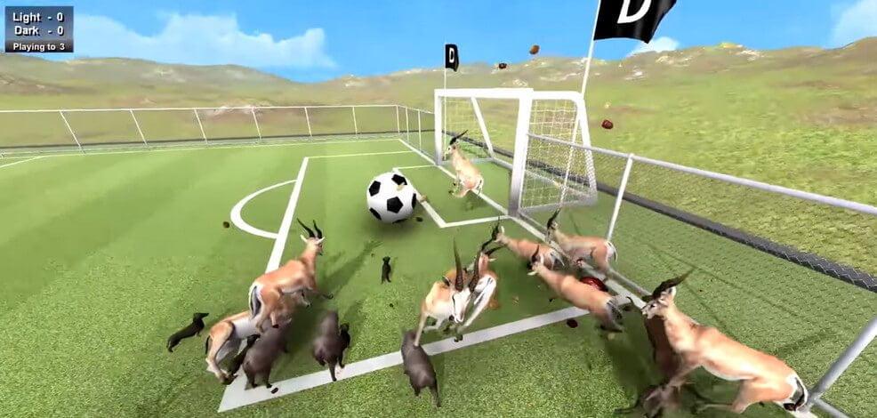 Beast Soccer Game