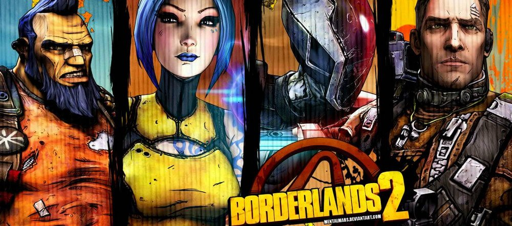Playable Broadlands 2 Characters