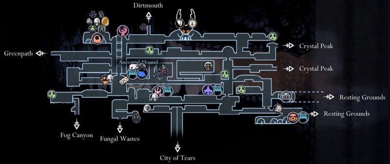 Crossroads Map