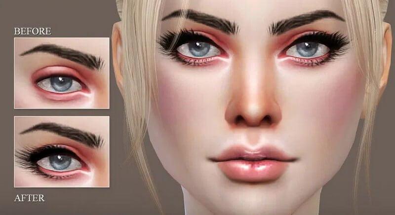 Eyelashes sims