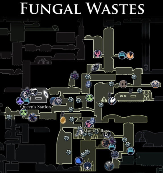 Fungal Wastes Map