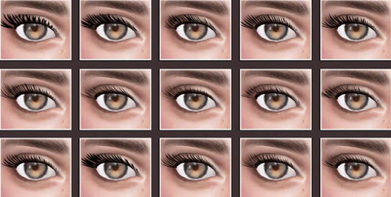 sims 4 Eyelashes