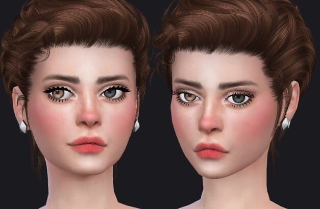 Eyelashes for sims 4
