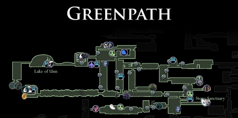Greenpath Map
