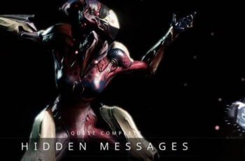 Warframe Hidden Message Quest