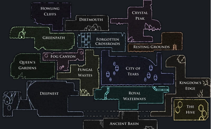 Hollow Knight Maps