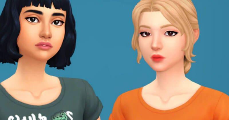 Maxis Match Sims Eyelashes