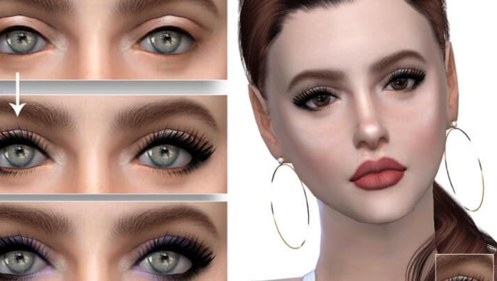 4 CC lashes