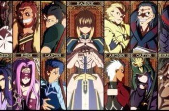 all servants classes in fgo