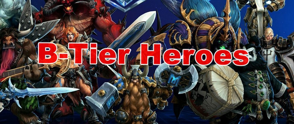Best Characters of  Heroes of the Strom