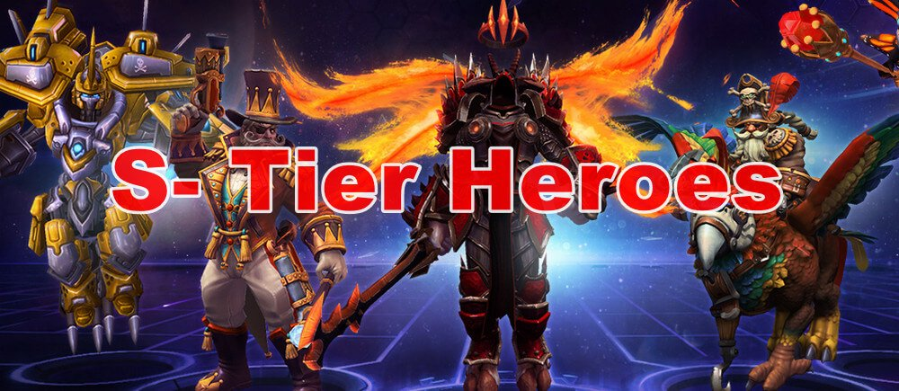 Heroes of the Strom  Tier List