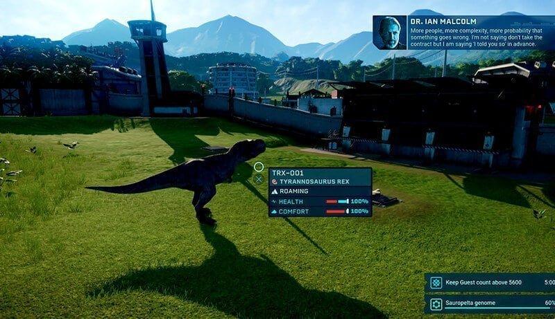 Jurassic world evolution PS4 Cheat