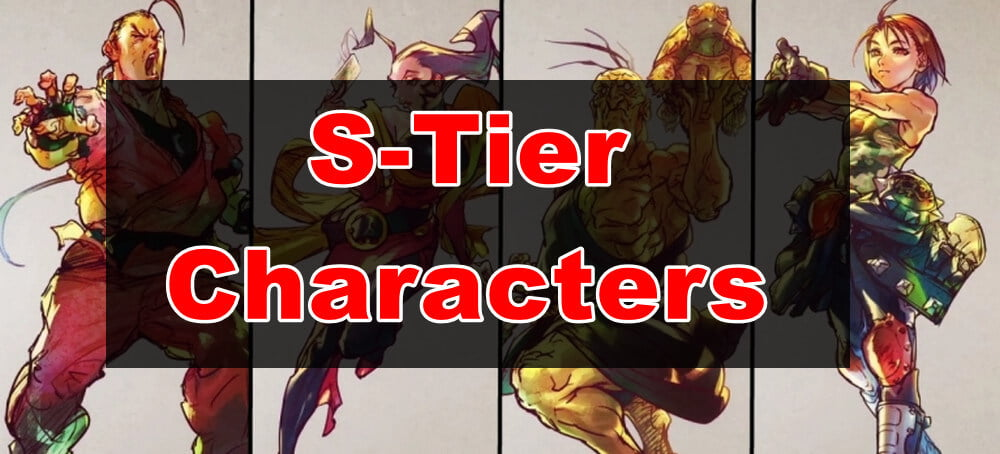 Street Fighter 5 Characters