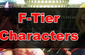 Street Fighter 5 weak characters