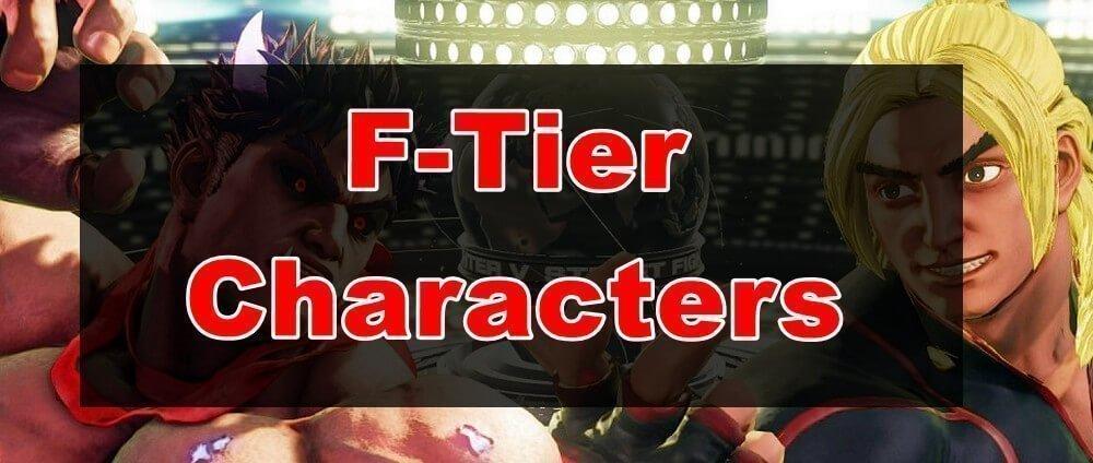 SFV Tier List