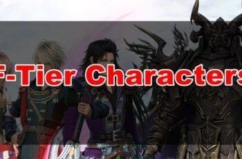 Weakest Characters in ffbe