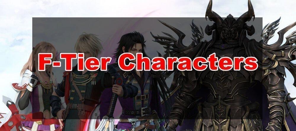 ffbe weak characters