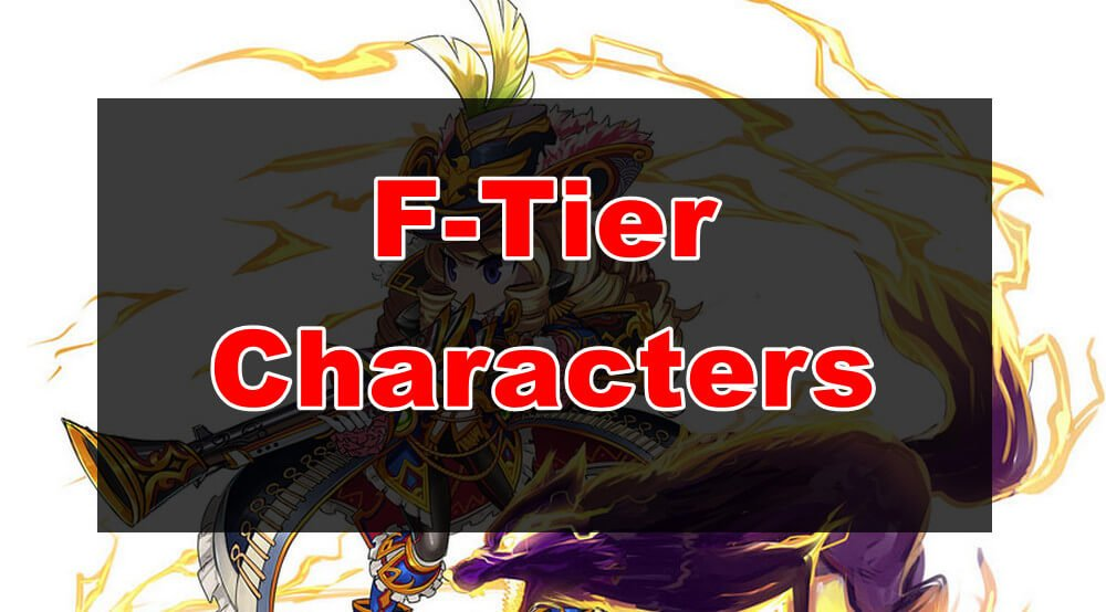 Weakest Characters in brave frontier