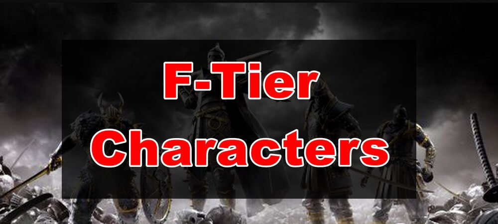 weakest characters in for honor