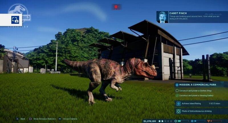 Jurassic world evolution Xbox One Cheats