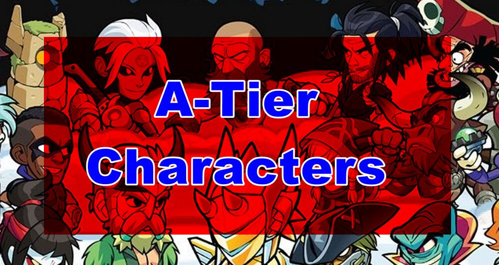 Brawlhalla characters