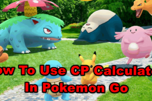 Pokemon Go CP Calculator