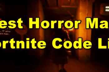 fortnite horror map code