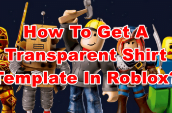roblox shirt template transparent