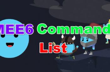 mee6 commands