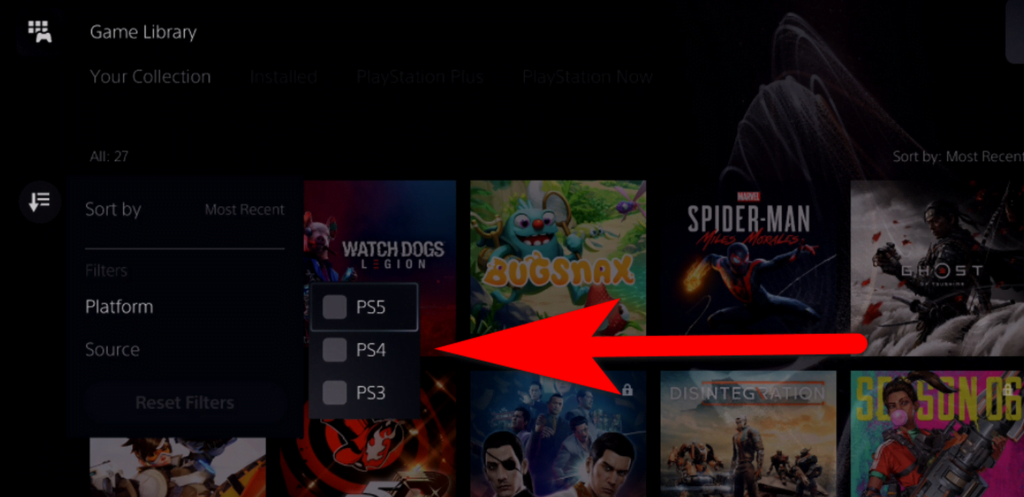 how to to play PlayStation 4 games to PlayStation 5